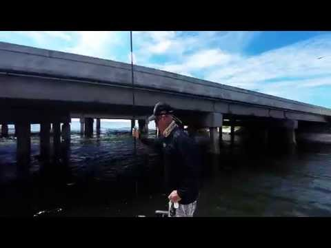 Getting under a low bridge with a Power-Pole Micro Anchor