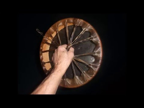 DIY Making Native American Hand Drum