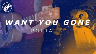 Want You Gone (Portal 2) Acoustic Guitar Cover || ArnyUnderCover