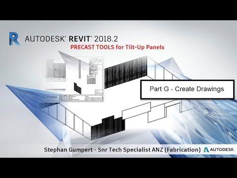 Part G Revit Precast Concrete Tilt Up Panels How To