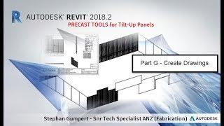 Teil G - Revit Precast Concrete / Tilt-Up-Platten - How zum Erstellen von Zeichnungen