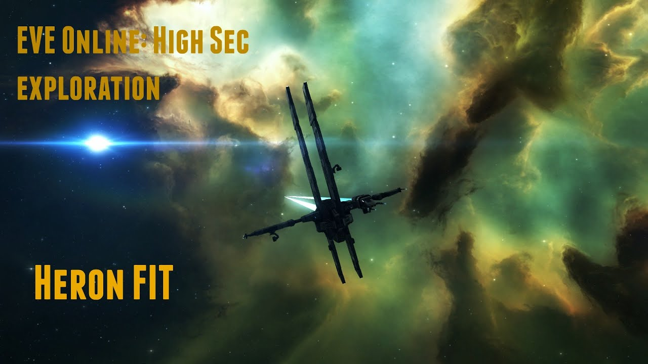 EVE online: Heron Fit New players Exploration