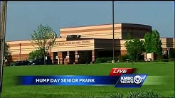 Senior prank brings live camel to KC-area high school