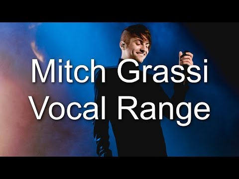 Mitch Grassi - Vocal Range (A1 - B7) (By Axel Fuentes) NEW