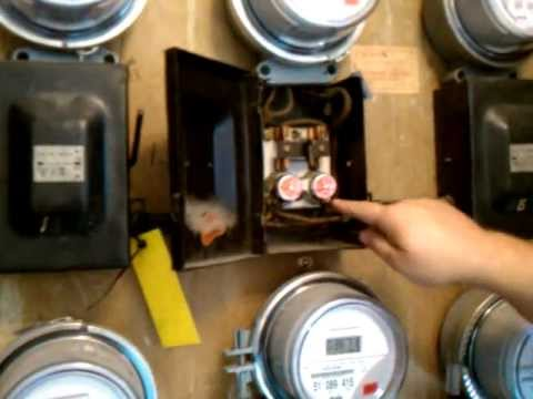 How to reset a push button breaker - YouTube