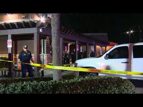Four people shot by a masked suspect outside a popular San Antonio Steakhouse