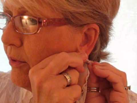 How To Put On Your Climbing Earrings Youtube