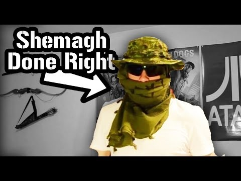 How to Tie a Shemagh – Military Style
