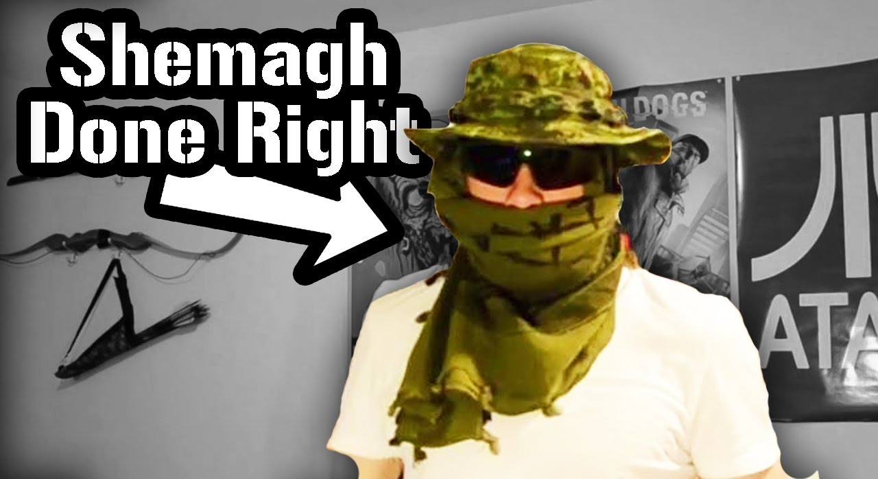 How To Tie A Shemagh  Military Style