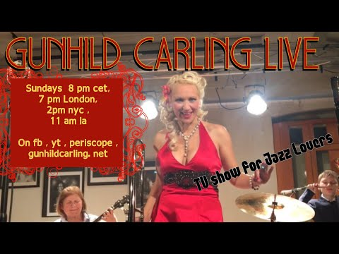 Gunhild Carling Live 56 -TV show for JAZZ Lovers -  playing requests