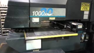 strippit cnc turret punch press model 1000 xp 20