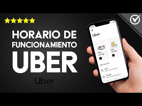 ¿Cuál es el Horario de Funcionamiento de los Coches de Uber? ¿Funcionan de Madrugada?