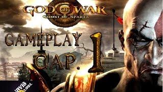 God of War: Ghost of Sparta PC gameplay español cap 1 HD