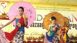 Video TARI BONDAN Payung - Javanese Classical Dance - KBRI Abu Dhabi [HD] download MP3, 3GP, MP4, WEBM, AVI, FLV Juni 2018