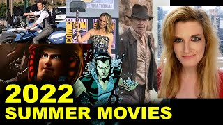 Summer Movies 2022 - Black Panther 2, Indiana Jones 5, Lightyear, Mission Impossible 7, Thor 4