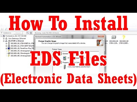 How to install EDS Files - YouTube