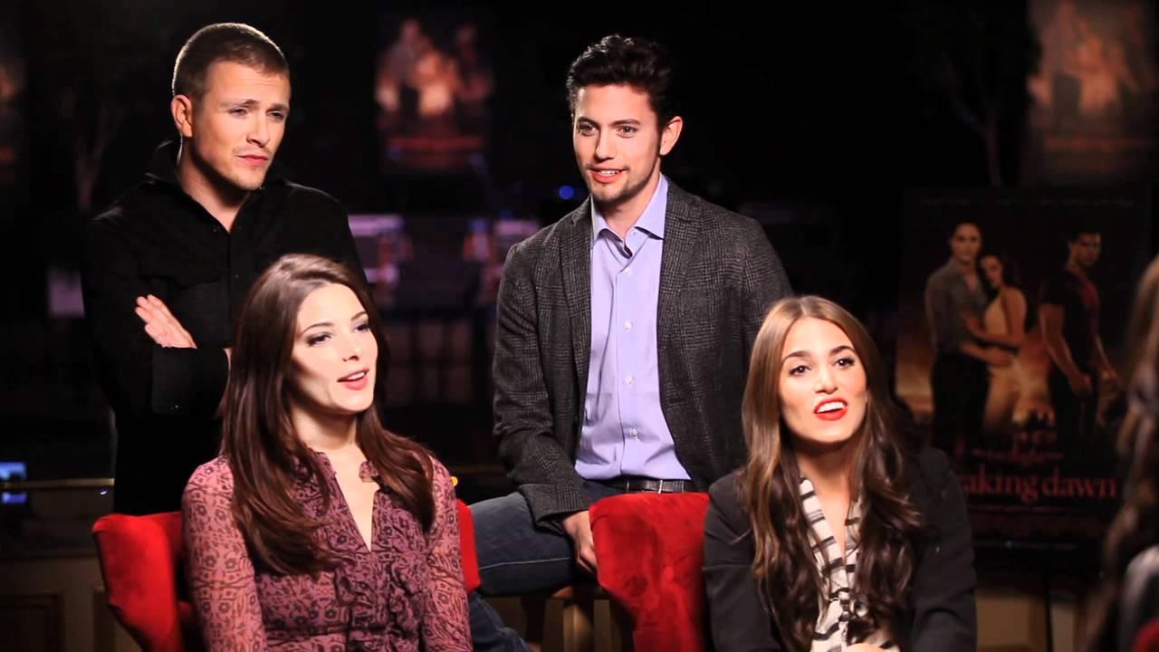 twilight saga breaking dawn part 1 cast interview the