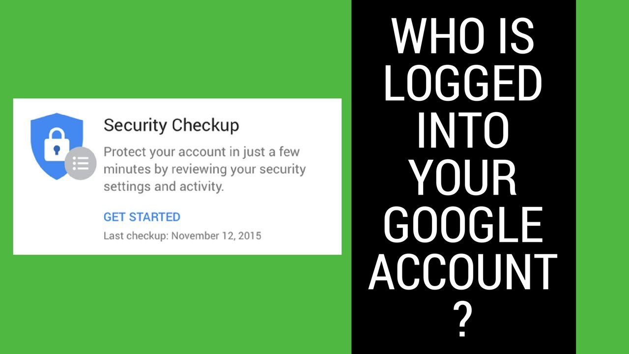 google account security check youtube
