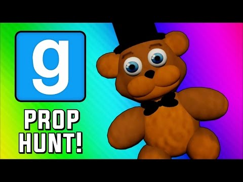 Thumbnail: Gmod Prop Hunt Funny Moments - Five Nights at Freddy's Hax & Guarding the Queen (Garry's Mod)