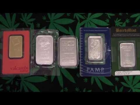 Gold, Silver, Platinum, Palladium, & Rhodium