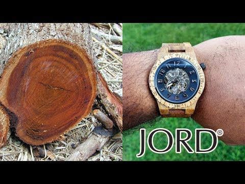 A Closer Look At My Jord Wooden Watch