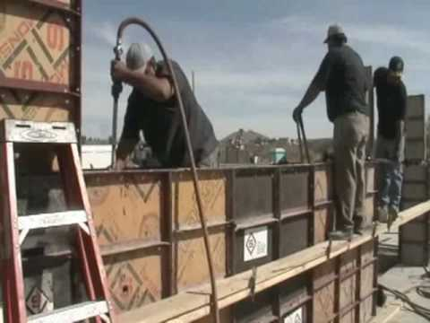 The Process of Building Rammed Earth Walls. Alternative Construction Methods