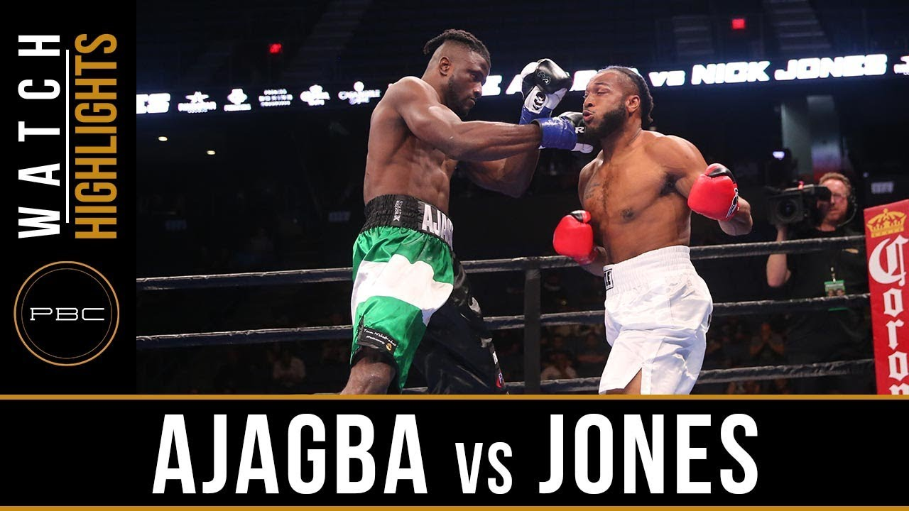Ajagba vs Jones Highlights: September 30, 2018 - PBC on FS1