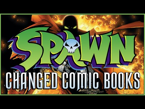 How SPAWN Changed Comic Books (Even Though It Sucks)