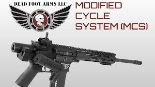 Dead Foot Arms Folding Stock System - AR15 COM