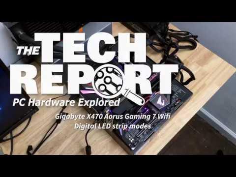 Gigabyte's X470 Aorus Gaming 7 Wifi motherboard reviewed