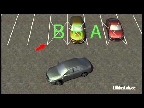 Способы парковки автомобиля видеоурок