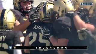 Army Football: Connor Slomka Touchdown Run vs. Morgan State 9-21-19
