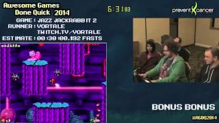 AGDQ 2014 Bonus Stream - Game 34 - Jazz Jackrabbit 2