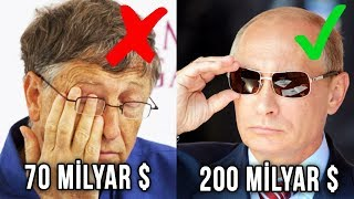 Bill Gates'ten Daha Zengin Olan 10 İnsan