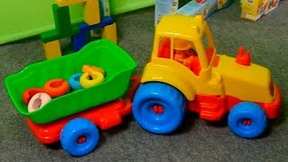Развивающие видео для детей. Пирамидки, башенки, машинки все серии подряд(Развивающие мультфильмы и видео для детей, в которых мы играем в наши любимые развивающие игрушки: детские..., 2015-03-25T06:55:09.000Z)