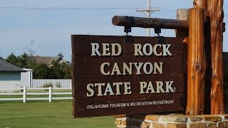 Red Rock Canyon State Park. Hinton, OKlahoma