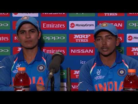 Cricket World TV  India Captain on Win Against Bangladesh  ICC u19 World Cup 2018