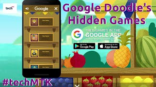 Google's Doodle Hidden Game | How To Play Doodle Olympic Games In Android