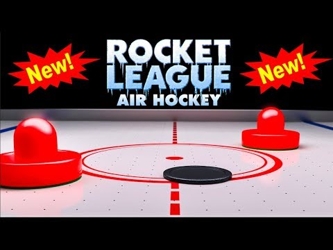 *NEW* Air Hockey Rocket League Map! thumbnail
