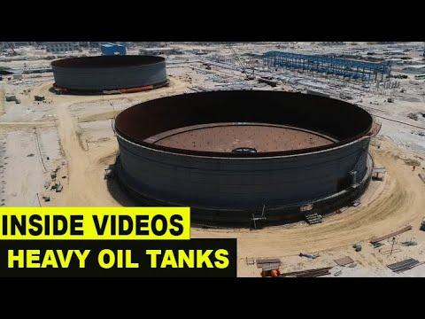 Oil Tank Construction | Heavy | Inside View 4K HD