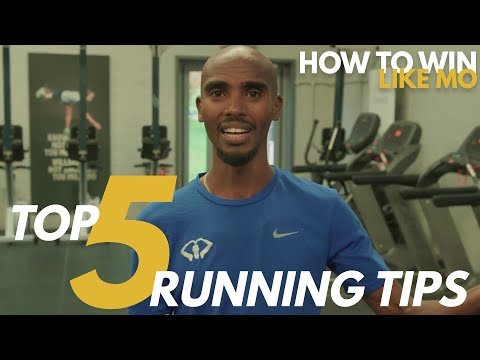 Mo's TOP 5 RUNNING TIPS | How to Win Like Mo | Mo Farah (2020)