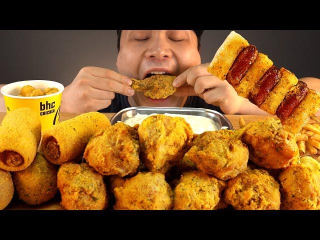 뿌링클닭다리와 뿌링핫도그등 뿌링클의 모든것 먹방~!! 리얼사운드 ASMR social eating Mukbang(Eating Show)