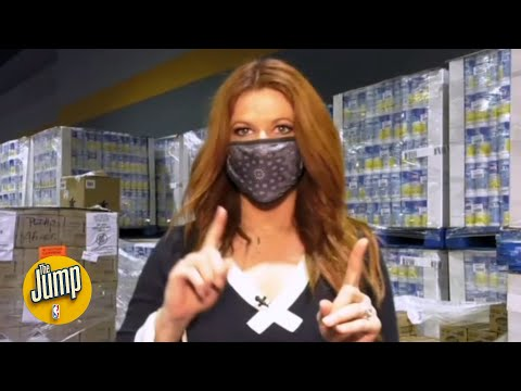 How does stuff get inside the NBA bubble? Rachel Nichols goes behind the scenes   The Jump