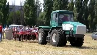 Трактор ХТА работы не боится