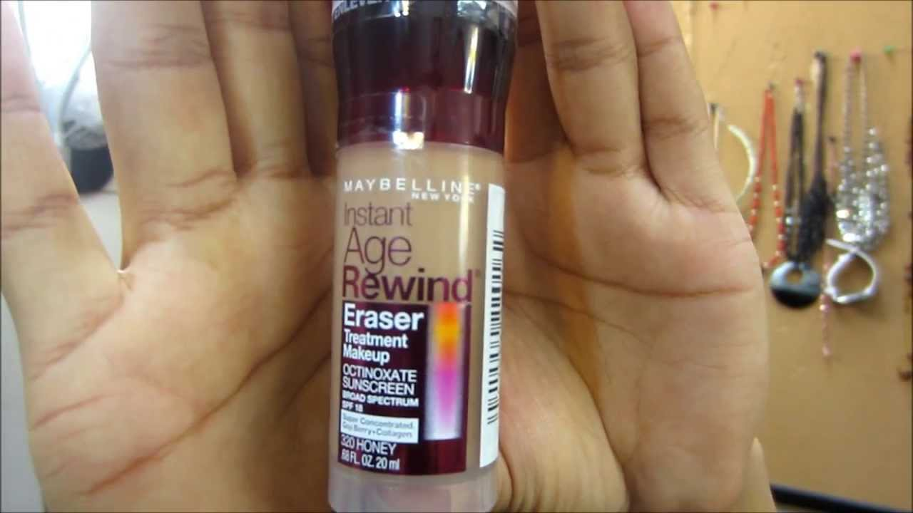 Review & Demo: Maybelline Instant Age Rewind Eraser Treatment ...
