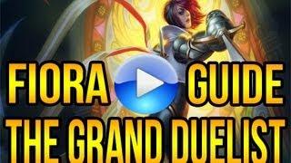 League Of Legends Fiora Guide