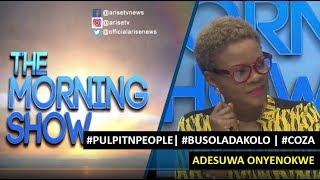 pulpitNpeople Why most Nigerian pastors avoid media interviews - Adesuwa Onyenokwe