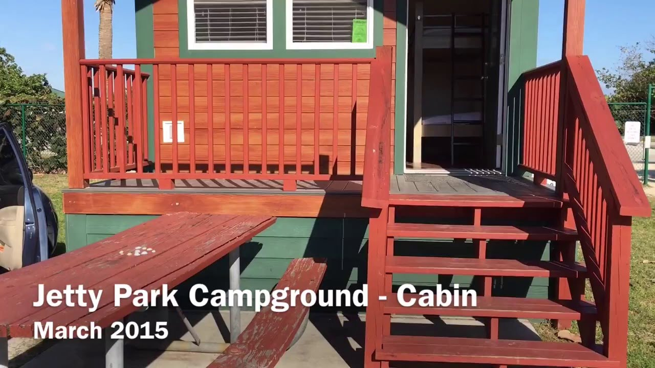 Jetty Park Campground   Cabin #319