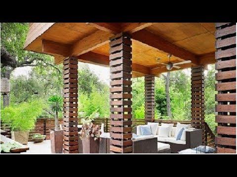 Desain Teras Rumah Joglo Minimalis  desain pilar teras dari kayu klasik dan unik youtube