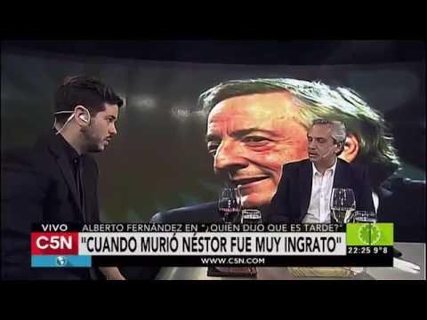 C5N - Quien dijo que es tarde: entrevista a Alberto Fernández